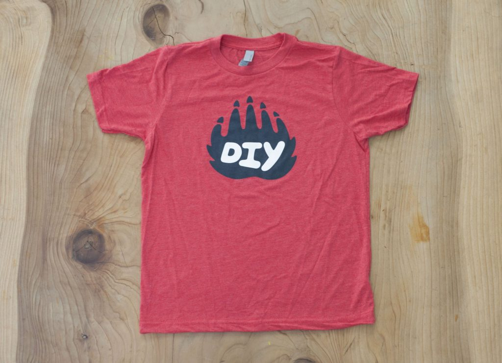 DIY LOGO TEE - RED