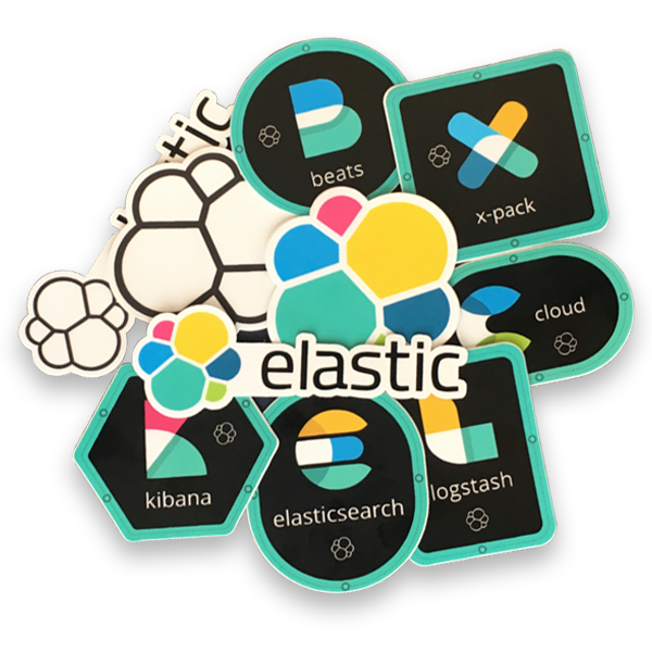 Elastic Sticker Pack