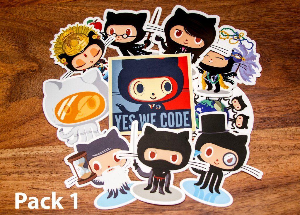 GitHub Sticker Packs 1