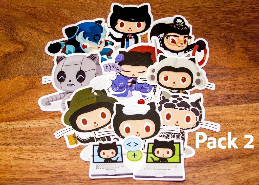 GitHub Sticker Packs 2