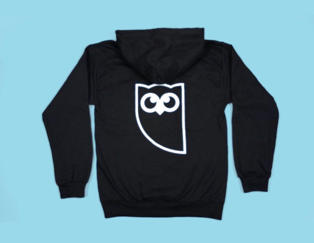 Hootsuite Black Owly Hoodie