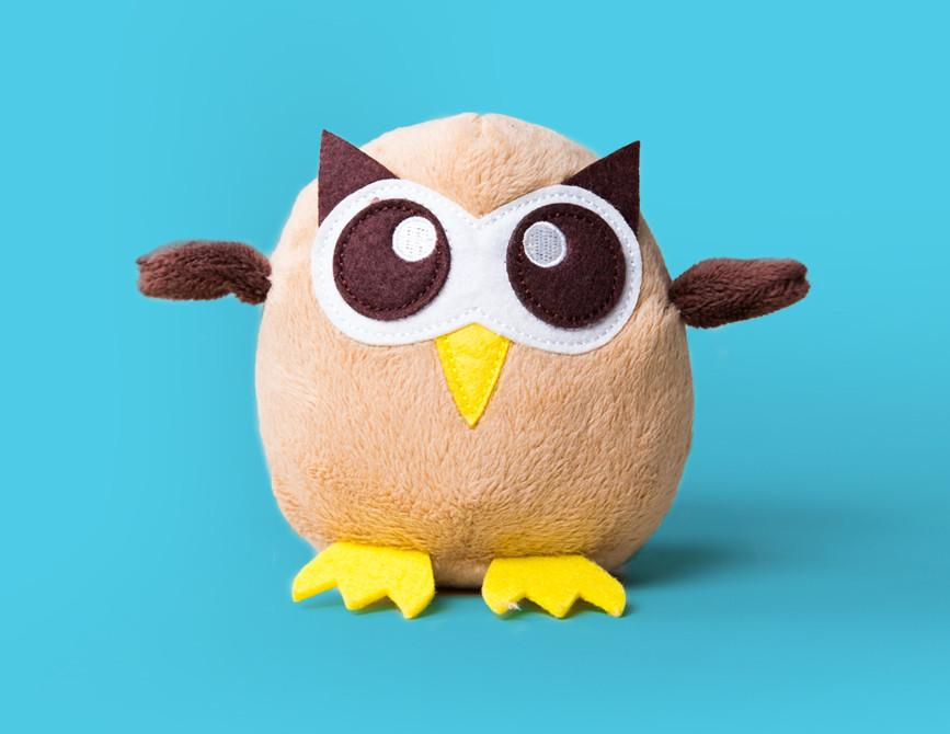 Hootsuite Small Plush Owly