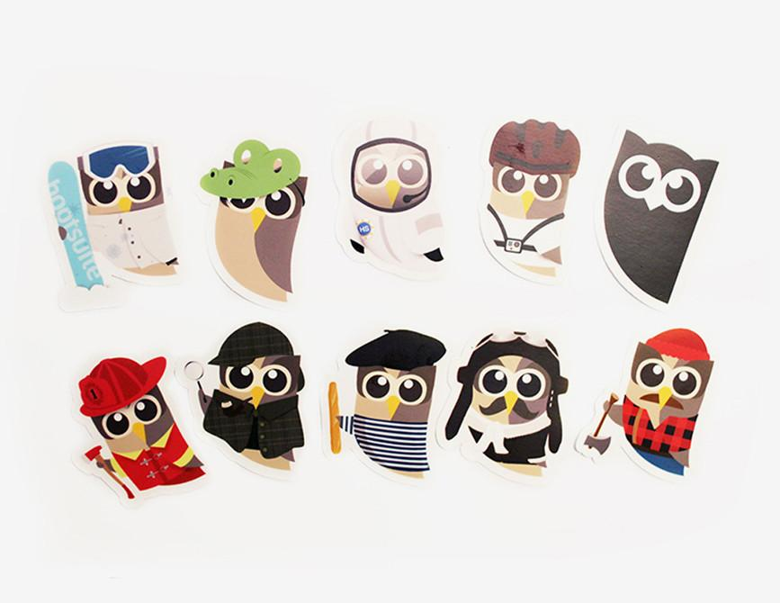 Hootsuite Stickers (single)