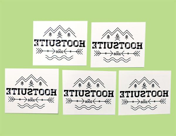 Hootsuite Tattoos (Pack of 5)