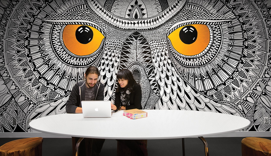 Hootsuite Spotted Boardroom – by Steve Pell / Graphic Design & Illustrations