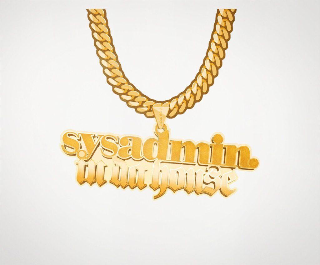 "Sophos ""SysAdmin in da house"" Laptop Sticker"