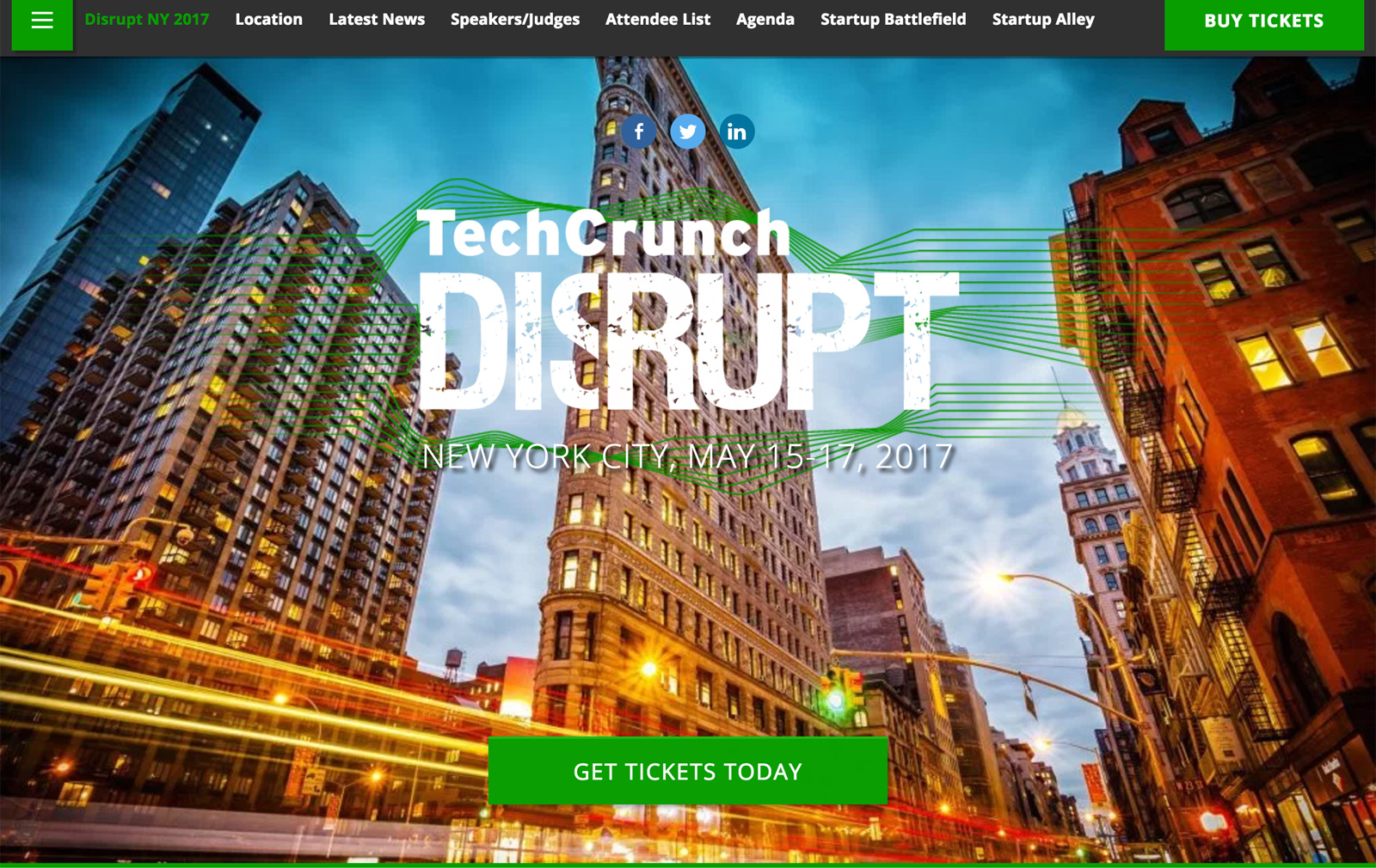 TechCrunch Disrupt NY 2017