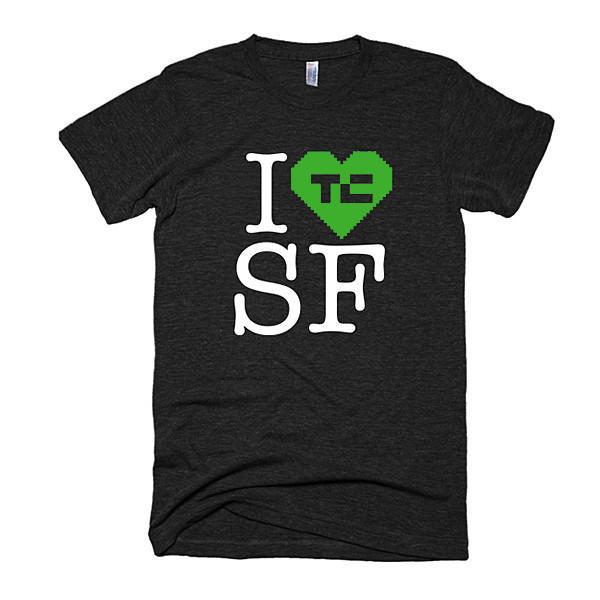 I 💚 TC SF - Tee