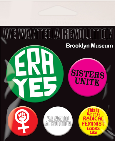 We Wanted A Revolution ERA 5 Piece pin set