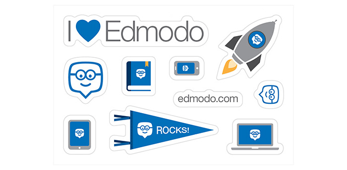 Edmodo - Sticker Sheets- Pack of 10