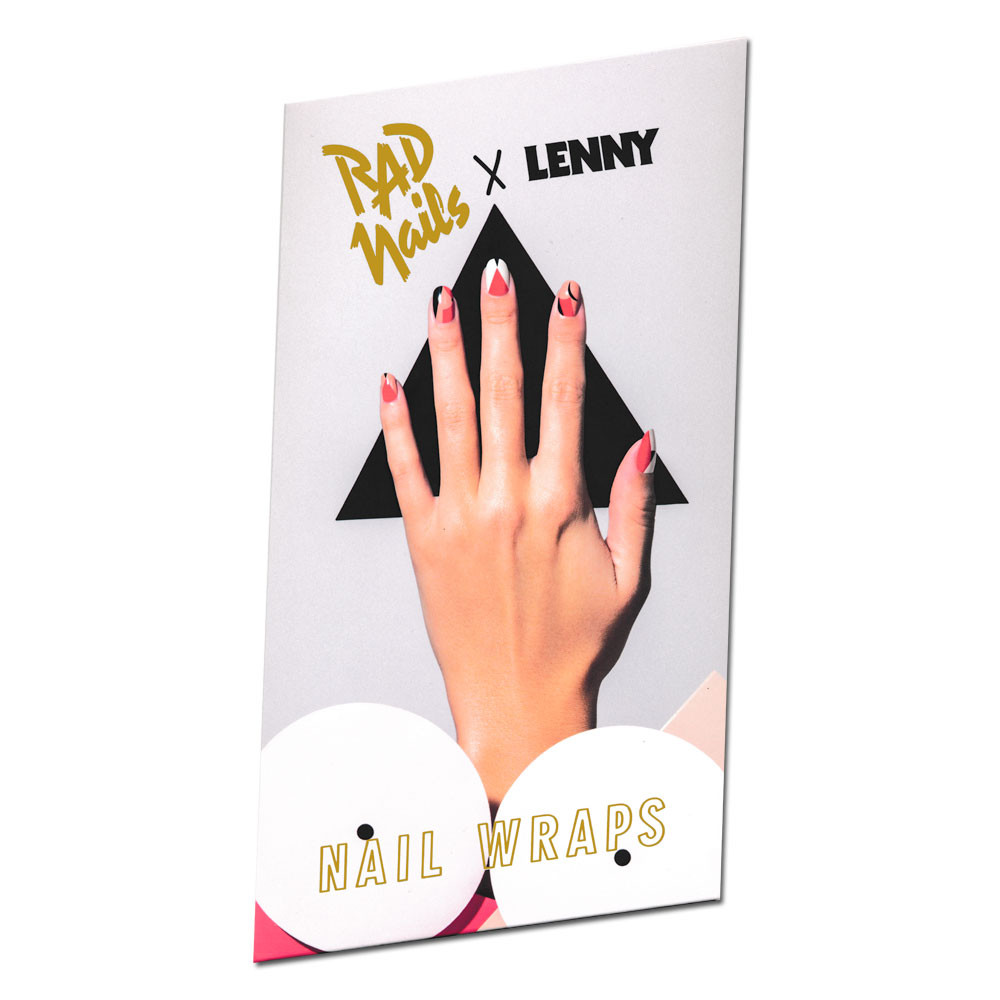 "LENNY x Rad Nails ""Nudes"" Nail Wraps"