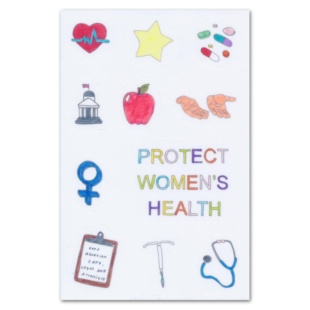 Lenny Women's Health Sticker Sheet