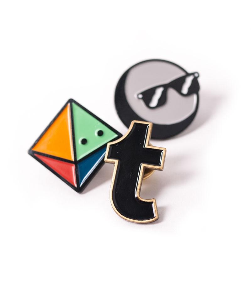 Tumblr - Tumblr Enamel Pins